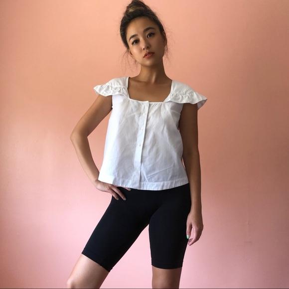 Zara Tops - Zara Cap Sleeve Blouse